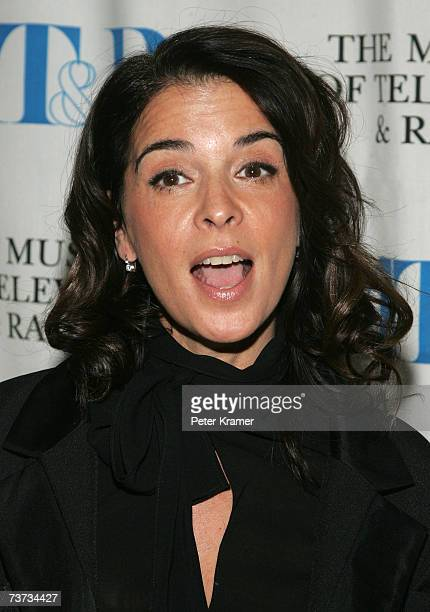 Actress Anabella Sciorra attends the Museum of Television Radio presentation of 'The Whacked Sopranos' on March 28 2007 in New York City