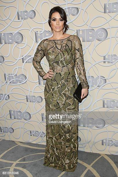 Actress Anabelle Acosta arrives at HBO's Official Golden Globe Awards after party at the Circa 55 Restaurant on January 8 2017 in Los Angeles...