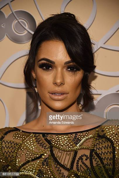 Actress Anabelle Acosta arrives at HBO's Official Golden Globe Awards After Party at Circa 55 Restaurant on January 8 2017 in Los Angeles California