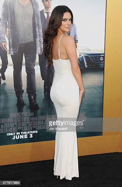 Actress Anabelle Acosta arrives at the Los Angeles Premiere 'Entourage' at Regency Village Theatre on June 1 2015 in Westwood California