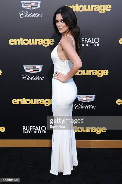 Actress Anabelle Acosta arrives at Warner Bros Pictures Premiere of 'Entourage' at Regency Village Theatre on June 1 2015 in Westwood California