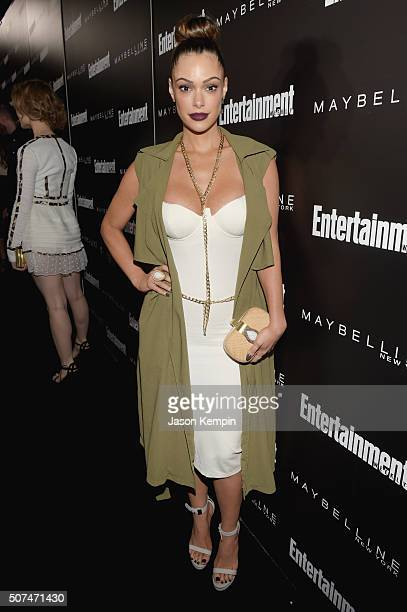 Actress Anabelle Acosta attends Entertainment Weekly Celebration Honoring The Screen Actors Guild Awards Nominees presented by Maybelline at Chateau...