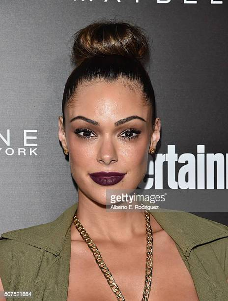 Actress Anabelle Acosta attends Entertainment Weekly's celebration honoring THe Screen Actors Guild presented by Maybeline at Chateau Marmont on...