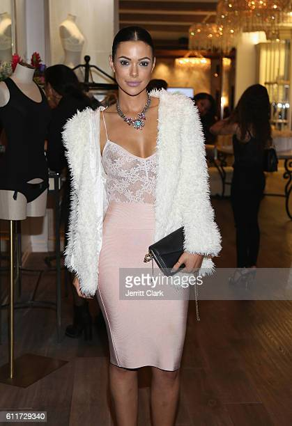 Actress Anabelle Acosta attends Julissa Bermudez's Lingerie Inspired Birthday Party at Naked Princess on September 30 2016 in West Hollywood...
