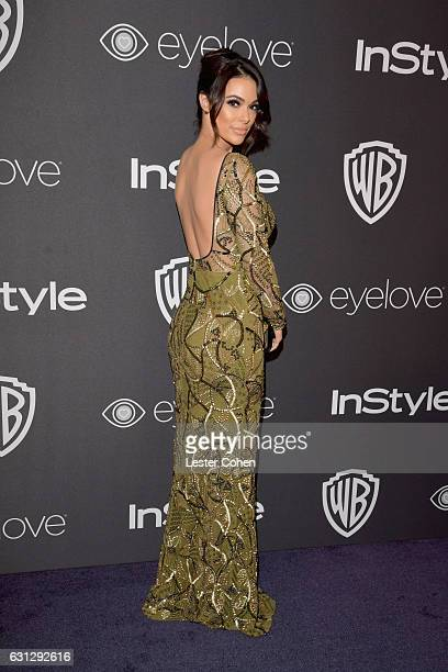 Actress Anabelle Acosta attends the 18th Annual PostGolden Globes Party hosted by Warner Bros Pictures and InStyle at The Beverly Hilton Hotel on...