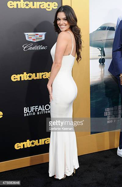 Actress Anabelle Acosta attends the premiere of ENTOURAGE sponsored by Buffalo David Bitton at the Regency Village Theatre on June 1 2015 in Westwood...