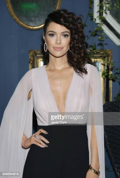 Actress Anabelle Acosta celebrates her 30th Birthday Party at The Esterel Restuarant on February 28 2017 in Los Angeles California