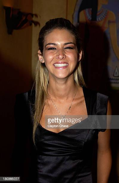 Actress Anahi DeCardenas attends a screening of Mancora at the Egyptian Theatre during the 2008 Sundance Film Festival on January 20 2008 in Park...