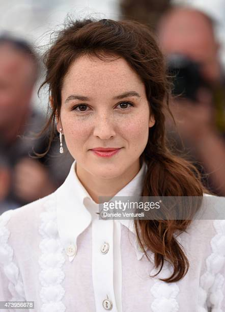 """Actress Anais Demoustier attends a photocall for """"Marguerite And Julien"""" during the 68th annual Cannes Film Festival on May 19, 2015 in Cannes,..."""