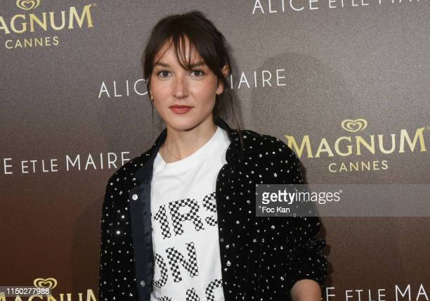 Actress Anais Demoustier attends the Alice et Monsieur Le Maire Premiere Party at Magnum during the 72nd annual Cannes Film Festival on May 18 2019...