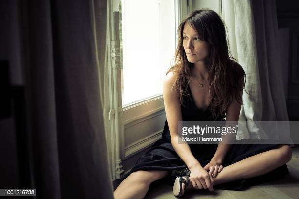 Actress Anais Demoustier is photographed for Self Assignment on June 2018 in Paris France