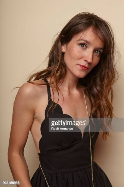 Actress Anais Demoustier is photographed for Self Assignment on June 2018 in Cabourg France