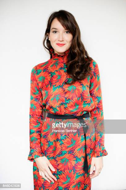Actress Anais Demoustier is photographed on September 9, 2017 in Deauville, France.