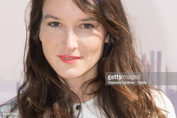Actress Anais Demoustier poses during the 'Revelation Jury' photocall as part of the 43rd Deauville American Film Festival on September 2 2017 in...
