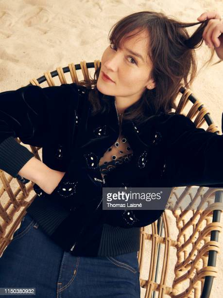 Actress Anais Demoustier poses for a portrait on May 19, 2019 in Cannes, France.