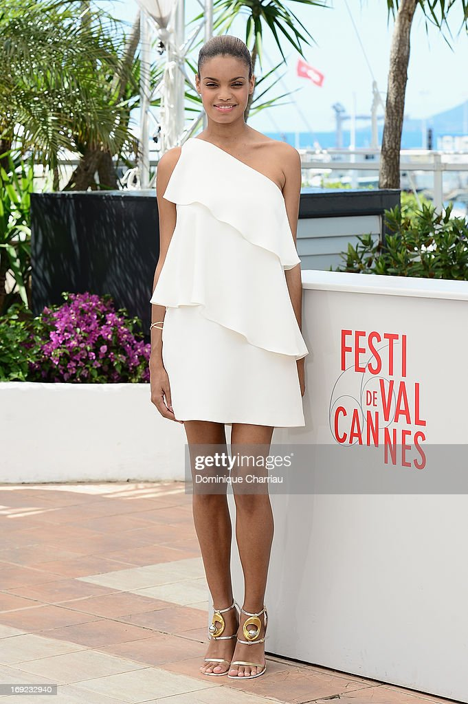 Actress Anais Monory attends the photocall for 'Grigris' during The 66th Annual Cannes Film Festival on May 22, 2013 in Cannes, France.