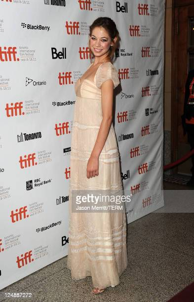 Actress Analeigh Tipton arrives at 'Damsels In Distress' Premiere at The Elgin during the 2011 Toronto International Film Festival on September 13...