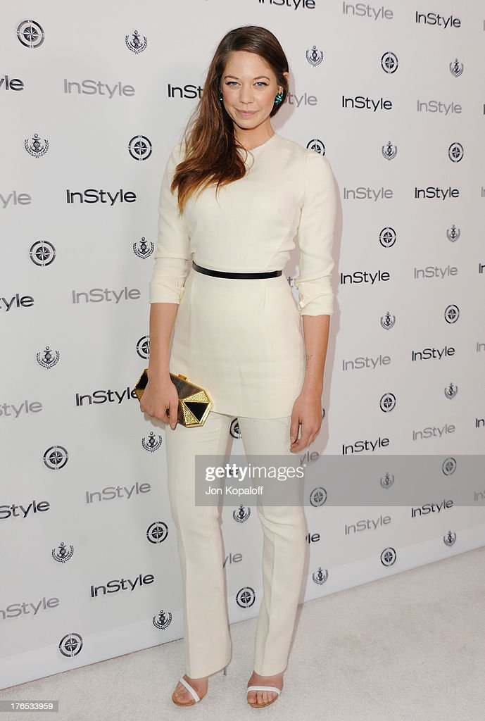 Actress Analeigh Tipton arrives at the 13th Annual InStyle Summer Soiree at Mondrian Los Angeles on August 14, 2013 in West Hollywood, California.