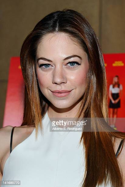 Actress Analeigh Tipton arrives to the Premiere of Sony Pictures Classics' Damsels In Distress at the Egyptian Theatre on March 21 2012 in Hollywood...