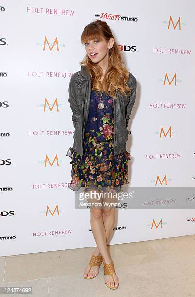 Actress Analeigh Tipton attends day 4 of The Variety Studio At Holt Renfrew during the 2011 Toronto International Film Festival on September 13 2011...