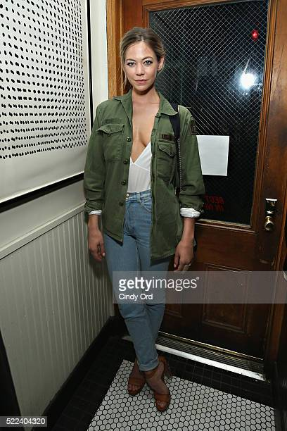 Actress Analeigh Tipton attends the 2016 Tribeca Film Festival after party for Vincent N Roxxy at Black Market on April 19 2016 in New York City