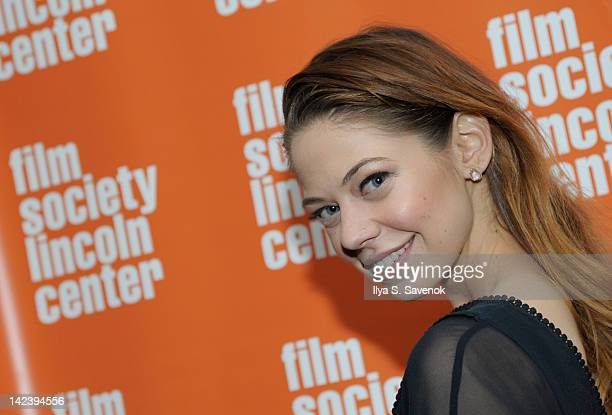Actress Analeigh Tipton attends the Damsels in Distress screening at The Film Society of Lincoln Center on April 3 2012 in New York City