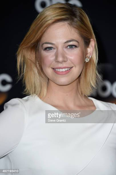 Actress Analeigh Tipton attends the Disney/ABC Television Group 2014 Television Critics Association Summer Press Tour at The Beverly Hilton Hotel on...