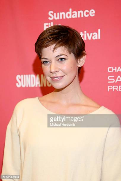 """Actress Analeigh Tipton attends the """"Mississippi Grind"""" premiere at the 2015 Sundance Film Festival"""
