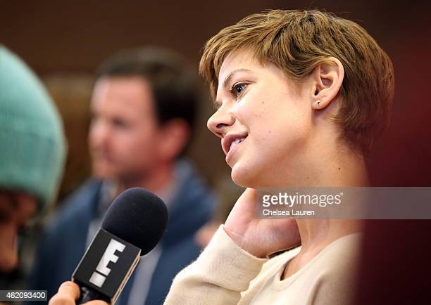 Actress Analeigh Tipton attends the Mississippi Grind premiere during the 2015 Sundance Film Festival on January 24 2015 in Park City Utah