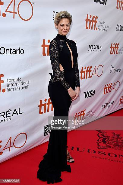 Actress Analeigh Tipton attends the 'Mississippi Grind' premiere during the 2015 Toronto International Film Festival at Roy Thomson Hall on September...