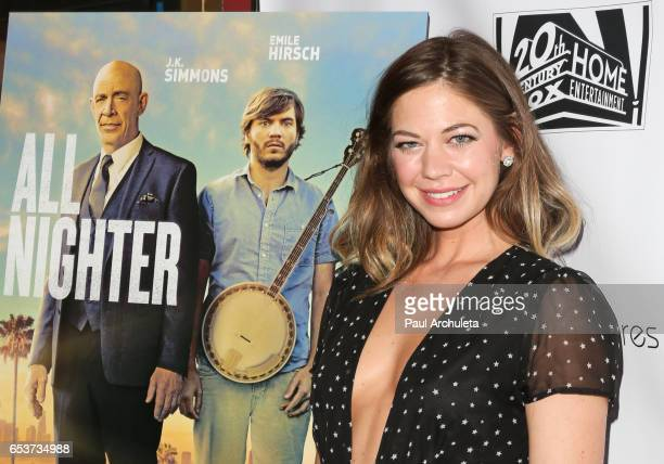 Actress Analeigh Tipton attends the screening of 'All Nighter' at Ahrya Fine Arts Theater on March 15 2017 in Beverly Hills California