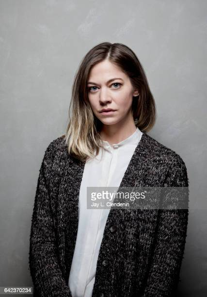 Actress Analeigh Tipton from the film Golden Exits is photographed at the 2017 Sundance Film Festival for Los Angeles Times on January 22 2017 in...