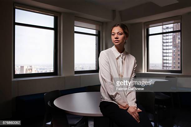 Actress Analeigh Tipton is photographed for Vanity Faircom on April 19 2016 in New York City