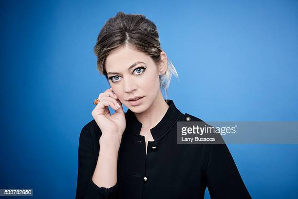 Actress Analeigh Tipton poses for a portrait at the Tribeca Film Festival on April 18, 2016 in New York City.