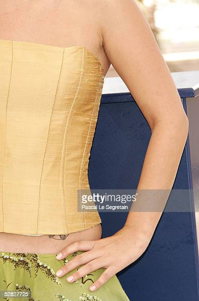 Actress Anapola Mushkadiz attends a photocall promoting the film 'Batalla En El Cielo' at the Palais during the 58th International Cannes Film...
