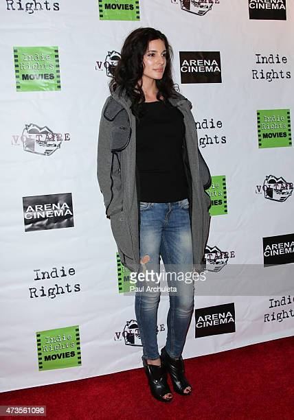 Actress Anastasia Antonia attends the premiere of 'Miles To Go' at Arena Cinema Hollywood on May 15 2015 in Hollywood California
