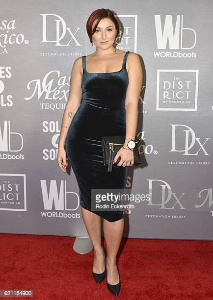 Actress Anastasia Baranova attends WORLDboots official Launch Party supporting Souls 4 Soles Charity at The District by Hannah An on November 4 2016...