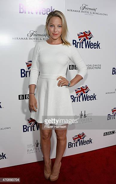 Actress Anastasia Griffith arrives at the 9th Annual BritWeek launch party at the British Consul General's Residence on April 21 2015 in Los Angeles...