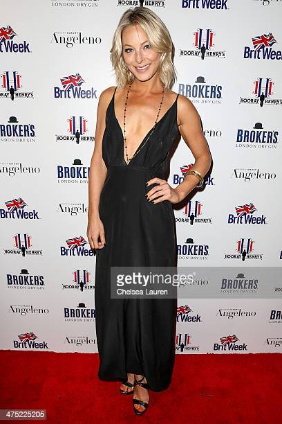 Actress Anastasia Griffith arrives at the BritWeek Oscar party celebrating past present and future Oscar winners at Hooray Henry's on February 26...