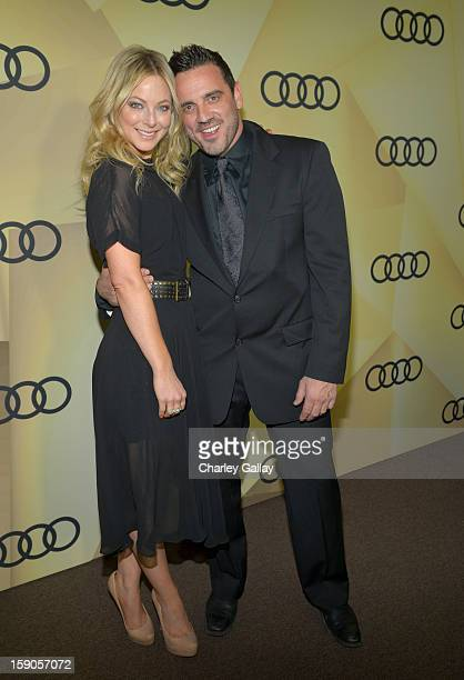 Actress Anastasia Griffith attends the Audi Golden Globes Kick Off 2013 at Cecconi's Restaurant on January 6 2013 in Los Angeles California