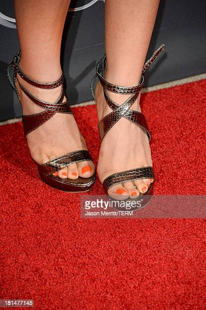 Actress Anastasia Griffith attends the BAFTA LA TV Tea 2013 presented by BBC America and Audi held at the SLS Hotel on September 21 2013 in Beverly...
