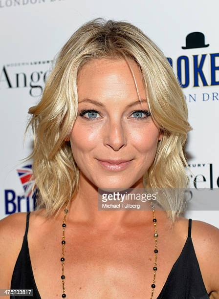 Actress Anastasia Griffith attends the BritWeek Oscar Party at Hooray Henry's on February 26 2014 in West Hollywood California
