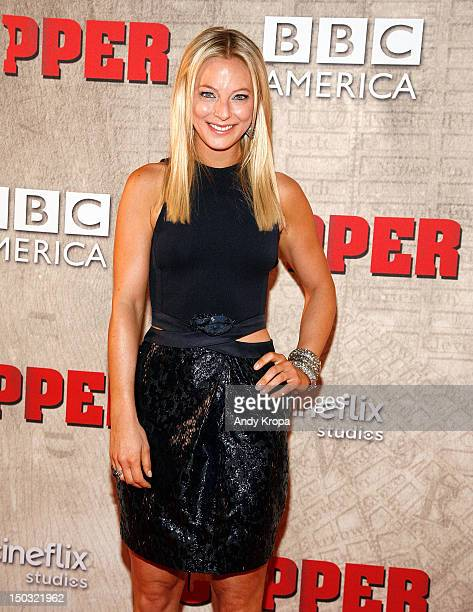 Actress Anastasia Griffith attends the Copper premiere at The Museum of Modern Art on August 15 2012 in New York City