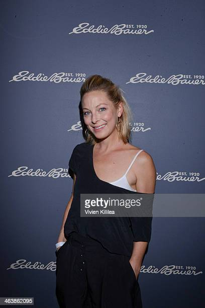 Actress Anastasia Griffith attends The Eddie Bauer Adventure House Day 3 2014 Park City on January 19 2014 in Park City Utah
