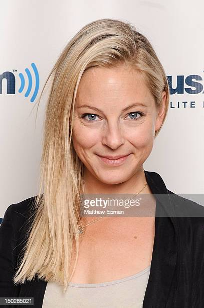 Actress Anastasia Griffith of BBC's 'Copper' visits SiriusXM Studios on August 14 2012 in New York City