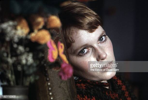 Actress and activist Mia Farrow poses for a portrait in January 1969 in New York City New York