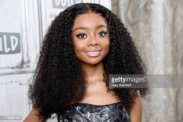 """Actress and activist Skai Jackson visits the Build Series to discuss her memoir """"Reach for the Skai How to Inspire Empower and Clapback"""" at Build..."""