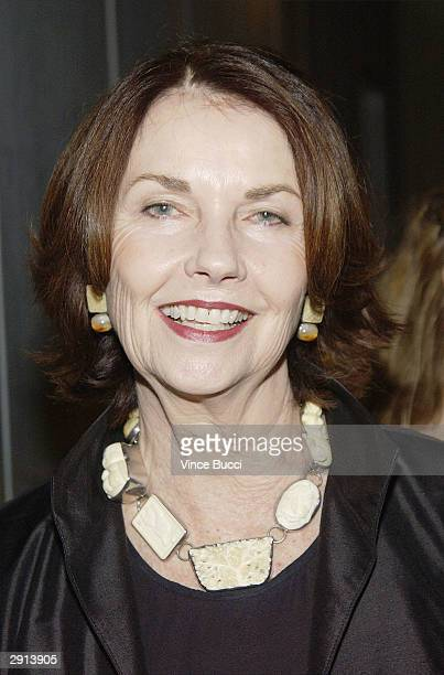 Actress and artist Sandra Stephenson attends Previous Images a multimedia exhibition of Sandra Knight by the actress writer and artist at the Edgemar...