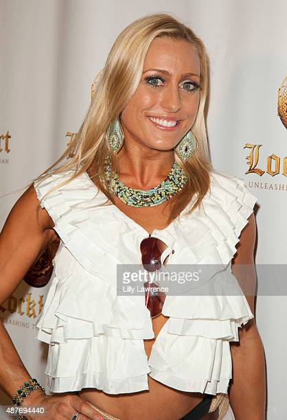 Actress and athlete Angelique Kenney arrives at the premiere Of 'Lockhart' at Crest Theatre on September 10 2015 in Westwood California