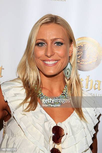Actress and athlete Angelique Kenney attends the 'Lockhert' premiere at Crest Theatre on September 10 2015 in Westwood California